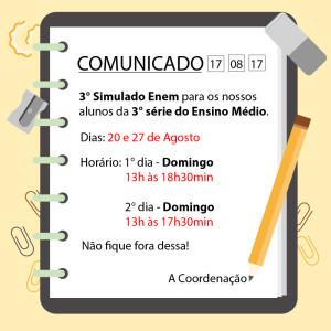 COMUNICADO ENEM